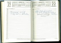 Image of RG4121.AM.S2.F3 Diary1950 Feb 22, NSHS Archives