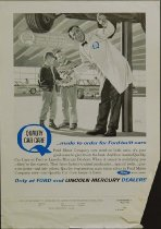 Image of 10645-4061 - Proof, Printing; John Falter; Offset Lithograph; Ford Motor Company