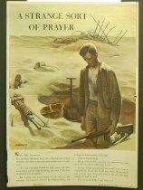 Image of 10645-4341 - Poster; John Falter; Offset Lithograph; A Strange Sort of Prayer