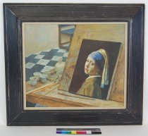Image of 10645-4577 - Painting; John Falter; Oil; Framed