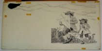 Image of 10645-4593 - Drawing; John Falter; Ink