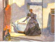 Image of 10645-4989 - Painting; John Falter; Watercolor; Unframed