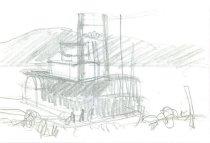 Image of 10645-5022 - Drawing; John Falter; Graphite
