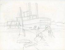 Image of 10645-5070 - Drawing; John Falter; Graphite