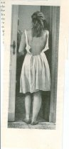 Image of RG4121.AM.S5.F76 magazine cutout of girl, NSHS Archives