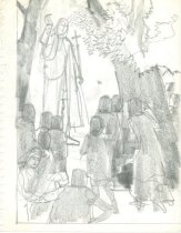 Image of 10645-5325 - Drawing; John Falter; Graphite