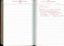 Image of RG4121.AM.S2.F27 Diary 1970 Dec 31, NSHS Archives
