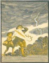 Image of 10645-5331 - Painting; John Falter; Tempera, Ink; Unframed