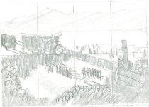 Image of 10645-5400 - Drawing; John Falter; Graphite