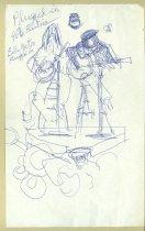 Image of 10645-5494 - Drawing; John Falter; Ink