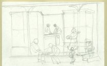 Image of 10645-5689 - Drawing; John Falter; Graphite