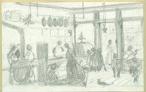 Image of 10645-5692 - Drawing; John Falter; Graphite