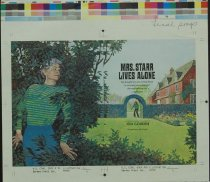 Image of 10645-5817 - Proof, Printing; John Falter; Mrs. Starr Lives Alone