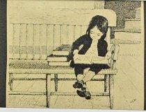 Image of 10645-5823-(2) - Sketch; John Falter; Benjamin Franklin