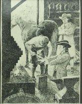 Image of 10645-5825-(2) - Sketch; John Falter; Benjamin Franklin