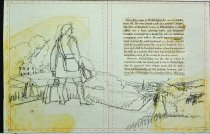 Image of 10645-5828-(1) - Sketch; John Falter; Benjamin Franklin