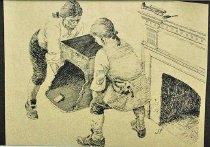 Image of 10645-5832-(2) - Sketch; John Falter; Benjamin Franklin