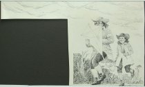 Image of 10645-5836-(2) - Sketch; John Falter; Benjamin Franklin