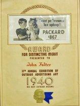 Image of 10645-5855 - Reward of Merit; John Falter; Outdoor Advertising Art