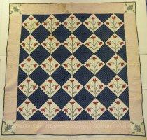 Image of 10646-3 - Quilt; North Carolina Lily