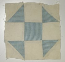 Image of 10767-26 - Quilt Block, Pieced; Shoo Fly