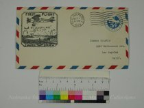 Image of 10930-28 - Cover, Postal, First Airmail Flight, Omaha