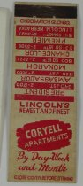 Image of 10930-46 - Matchbook, Coryell Apartments
