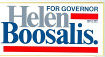 Image of 10965-6 - Sticker, Helen Boosalis for Governor