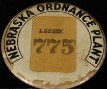 Image of 11055-1798 - Badge, Nebraska Ordnance Plant; Mead, NE, Lessee 775