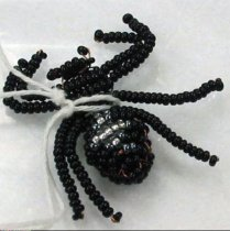 Image of 11055-2687 - Spider Made of Beads, Russian
