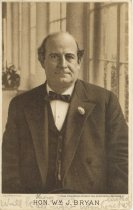 "Image of 11055-100 - Postcard; William Jennings Bryan; ""Honorable Wm. J. Bryan"""