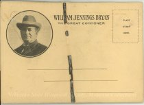 Image of 11055-1699 - Postcard; William Jennings Bryan