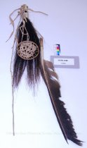 Image of 11055-1885 - Trophy; War; Horsehair; Feather