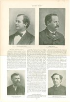Image of 11055-2079 - Magazine; William Jennings Bryan; Page from Harpers Weekly