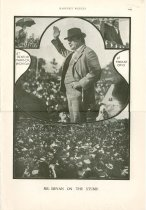 Image of 11055-2087 - Magazine; William Jennings Bryan; Page from Harpers Weekly