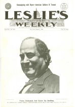Image of 11055-2100 - Magazine; William Jennings Bryan; Cover of Leslies Illustrated Weekly