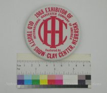 Image of 11055-2705 - Button, Old Trusty Show, 1988