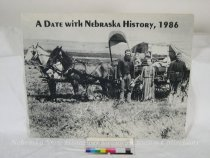 Image of 11055-2928 - Calendar, A Date with Nebraska History, 1986