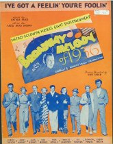 """Image of 11055-563 - Sheet Music, Ive Got a Feelin Your Foolin; From """"Broadway Melody"""" a Robert Taylor Movie"""