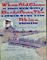 Image of 11055-617 - Sheet Music, When Old Glory Floats Over the Rhine