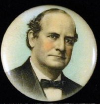 Image of 11082-10 - Button, Political; William Jennings Bryan