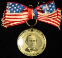 Image of 11082-18 - Badge; William Jennings Bryan; Nebraska Traveling Mens Bryan Club