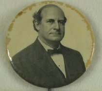 Image of 11082-11 - Button, Political; William Jennings Bryan
