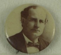 Image of 11082-6 - Button, Political; William Jennings Bryan