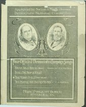 Image of 11082-66 - Sheet Music, The Merry Smile; Democratic Campaign Song,