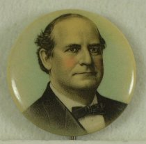 Image of 11082-8 - Button, Political; William Jennings Bryan