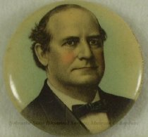 Image of 11082-9 - Button, Political; William Jennings Bryan