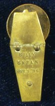 Image of 11185-1 - Pin, Political; William Jennings Bryan