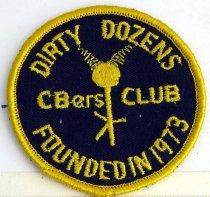 Image of 11262-13 - Patch, Dirty Dozen CBers Club