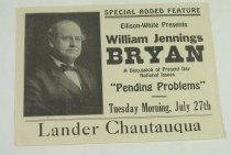 Image of 11277-3 - Poster, Poltical; William Jennings Bryan